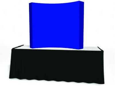 Pop Up Trade Show Display | VBurst Replacement Graphic 2x2 Curved