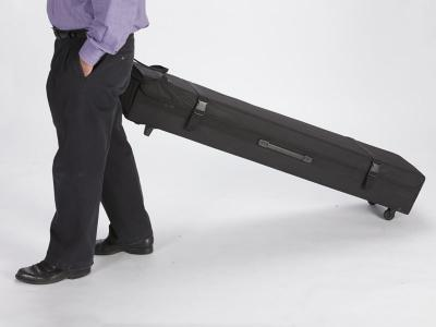 TF-701 Portable Fabric Case With Wheels | Trade Show Displays