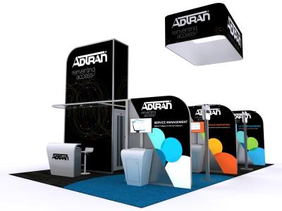 DM-1051 Hybrid Exhibit | Custom Modular Hybrid Displays