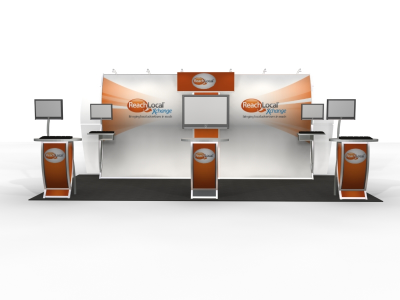 Elsie Anne - Perfect 20 Trade Show Displays | Custom Modular Hybrid Displays