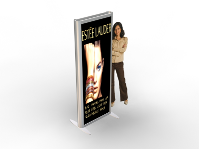 Banner Stands | MOD-1252  Backlit 3-D Banner Stands