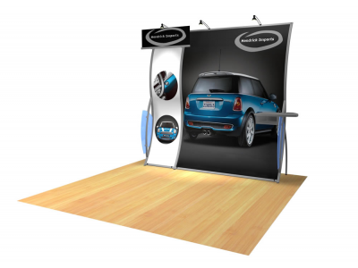 Perfect 10 Trade Show Displays | Custom Modular Hybrid Displays