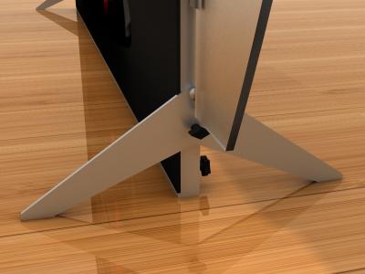 Tension Fabric Display Graphics | VK-2311 SEGUE Sunrise