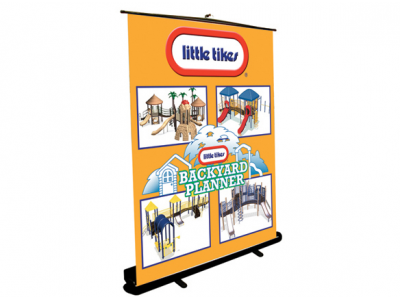 Grandstand Retractable | Banner Stand