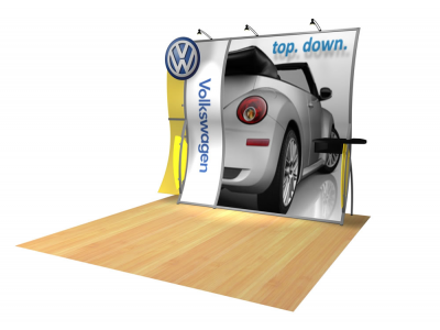 Perfect 10 Trade Show Displays| Custom Modular Hybrid Displays