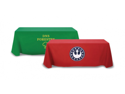 Table Throws   Trade Show Display Accessories