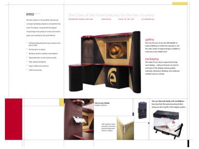 Intro Kit 8 Table Top Displays | Trade Show Displays