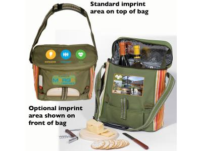 Promotional Giveaway Bags | Daypack Picnic Cooler