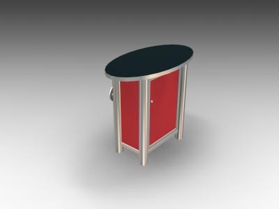 MOD-1266 Modular Pedestal | Counters Pedestals Kiosks & Workstations