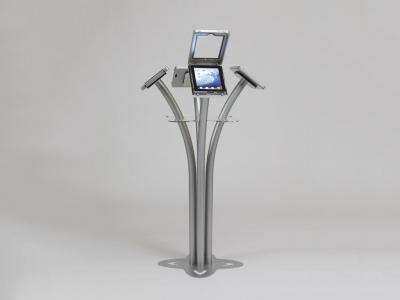 MOD-1338 iPad Kiosk clamshell open