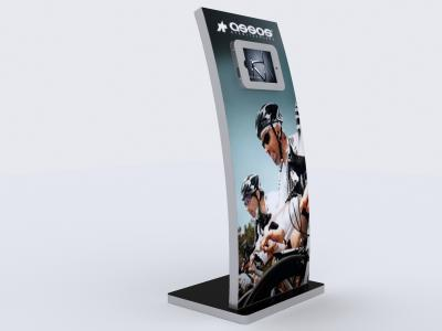 MOD-1363 iPad Kiosk | Trade Show Displays