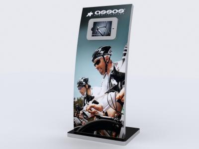 MOD-1363 iPad Kiosk   Trade Show Displays