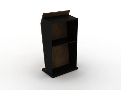 MOD-1548 Trade Show Podium | Counters Pedestals Kiosks & Workstations