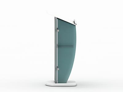 MOD-1549 Trade Show Podium | Counters Pedestals Kiosks & Workstations