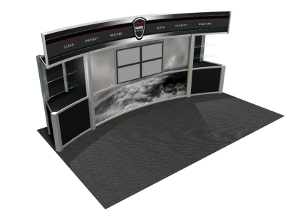 Visions Custom Modular Hybrid Displays | VK-2011 20 Foot Visions Display