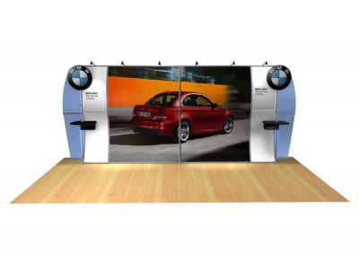 Anna Bella - Perfect 20 Trade Show Displays | Custom Modular Hybrid Displays