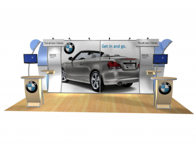 Cae Lynne - Perfect 20 Trade Show Displays | Custom Modular Hybrid Displays