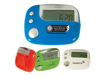 Promotional Giveaway Gifts & Kits | Quantum Fitness Pedometer
