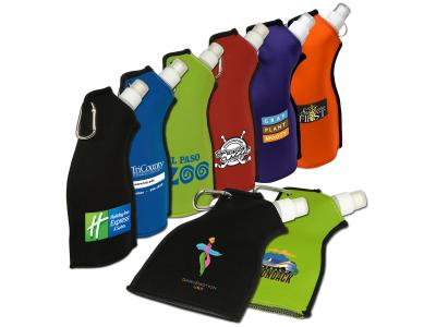 Promotional Giveaway Drinkware | Neoprene Flexi-Bottle
