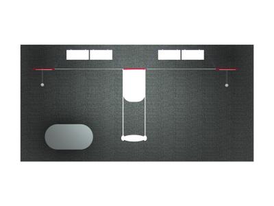 Trade Show Displays | FF-202 Flat Panel Displays