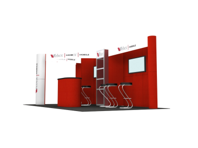 Trade Show Displays |FF-201 Flat Panel Display