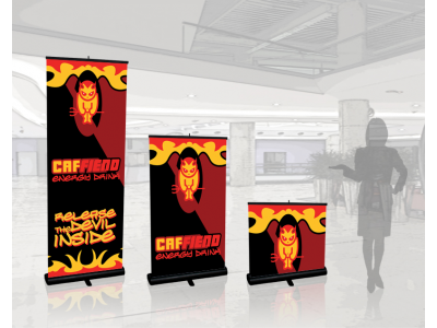 Banner Stands | Quickscreen Retractable 1-2-3 pole heights