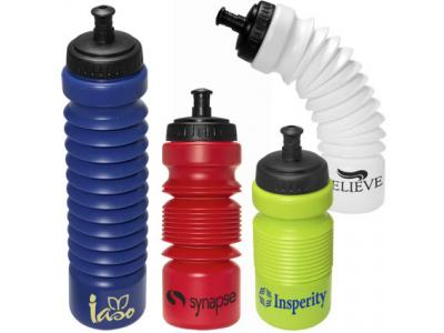 Promotional Giveaway Drinkware | Prime PL-4071 Accordion Water Bottle