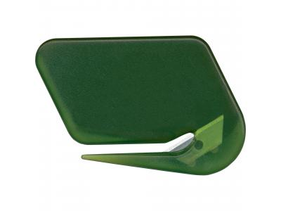 Promotional Giveaway Office | Letter Opener Transparent Green