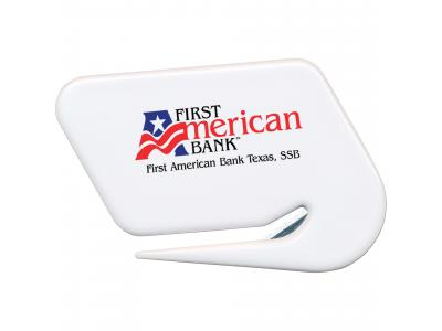 Promotional Giveaway Office | Letter Opener White