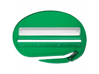 Promotional Giveaway Office | The Ultimate Letter Opener Translucent Green