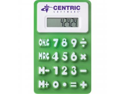 Promotional Giveaway Technology | The Flex Calculator Green