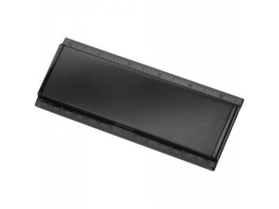 Promotional Giveaway Office | Work Rules Desk Organizer Solid Black
