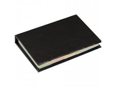Promotional Giveaway Office | Lil Sticky Notes Book Black