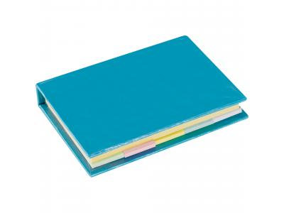 Promotional Giveaway Office | Lil Sticky Notes Book Process Blue
