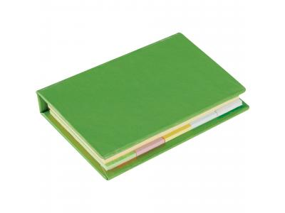 Promotional Giveaway Office | Lil Sticky Notes Book Lime Green