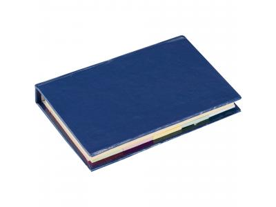Promotional Giveaway Office | Lil Sticky Notes Book Royal Blue