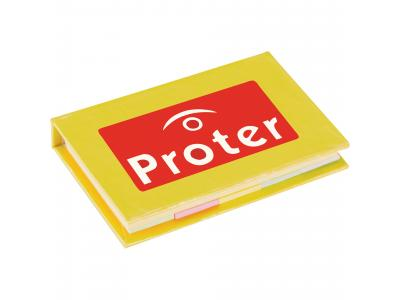 Promotional Giveaway Office | Lil Sticky Notes Book Yellow