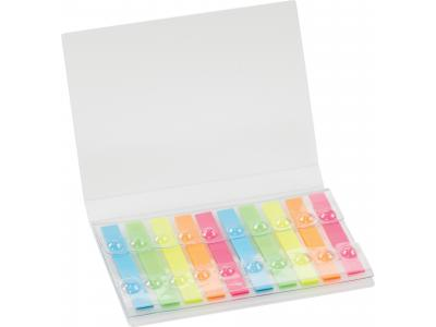 Promotional Giveaway Office | Highlighter Strips Booklet