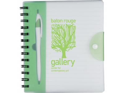 Promotional Giveaway Office | The Hideaway Notebook Translucent Green
