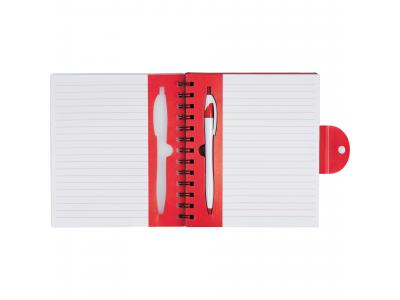Promotional Giveaway Office | The Hideaway Notebook Translucent Red