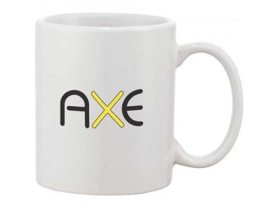 Promotional Giveaway Drinkware | Bounty 11-Oz. Ceramic Mug White
