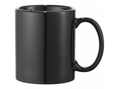 Promotional Giveaway Drinkware | Bounty 11-Oz. Ceramic Mug Black