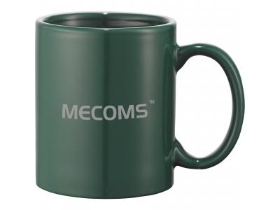 Promotional Giveaway Drinkware | Bounty 11-Oz. Ceramic Mug Green