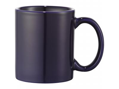 Promotional Giveaway Drinkware | Bounty 11-Oz. Ceramic Mug Navy Blue