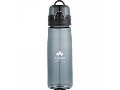 Promotional Giveaway Drinkware | Capri 25-Oz. Tritan Sports Bottle Trans Black
