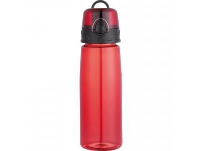 Promotional Giveaway Drinkware | Capri 25-Oz. Tritan Sports Bottle Trans Red