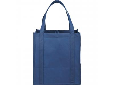 Promotional Giveaway Bags | The Hercules Grocery Tote Navy Blue