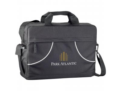 Promotional Giveaway Bags | The Quill Meeting Brief Black