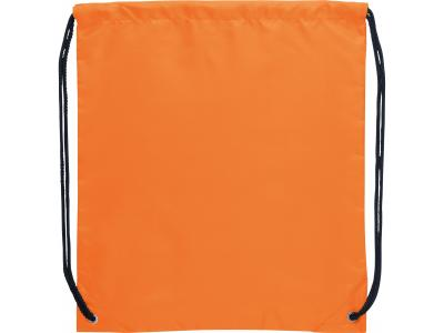 Promotional Giveaway Bags | The Oriole Drawstring Cinch Backpack Orange