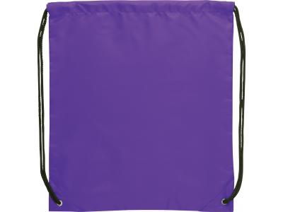 Promotional Giveaway Bags | The Oriole Drawstring Cinch Backpack Purple